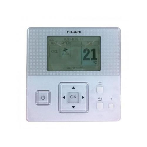 Hitachi Air Conditioning PC-ARFPE High Spec Wired Remote Controller With Integrated Thermostat